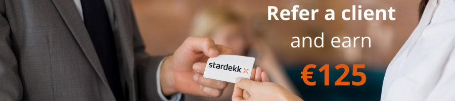 Earn €125 as Stardekk Ambassador