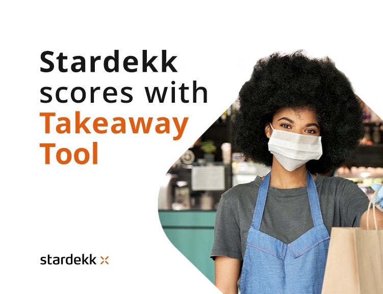 Stardekk responds to Takeaway trend and helps customers generate more than 1 million euros in revenue.