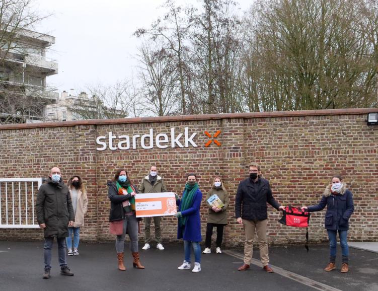 Stardekk steunt CKG Sint-Clara na sportieve challenge