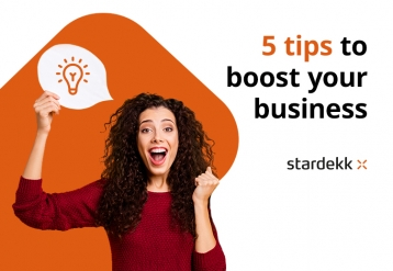 5 tips to boost your business!