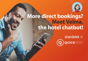 Meet Velma, the hotel chatbot!