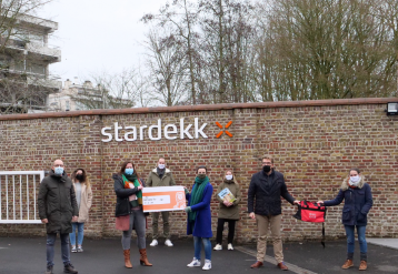 Stardekk supports CKG Sint-Clara after sporty challenge